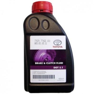 Жидкость тормозная TOYOTA DOT 5.1 0.5л. 0882380005