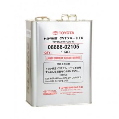 Масло трансмиссионное TOYOTA CVT TC вариатор 4л. 0888602105