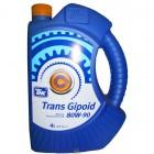 Масло трансмиссионное ТНК TRANS GIPOID GL5 80w90 минер. 4л. 40617742