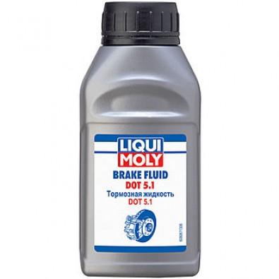 Жидкость тормозная LIQUI MOLY DOT 5.1 BRAKE FLUID 0.25мл. 8061