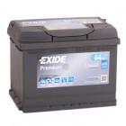 АКБ EXIDE 64Ач 640A 242x175x190 обратная EA640