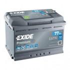АКБ EXIDE 77Ач 760A 278х175x190 обратная EA770
