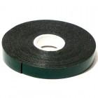 Скотч двухсторонний зеленый 12мм х 5м KS125