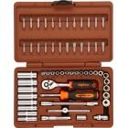 Набор инструментов OMBRA 57 предметов 1\4 OMT57S